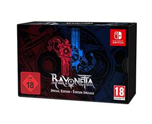 Bayonetta 2 Special Edition (Switch) für 61,52€ (Amazon FR) / ggfs. für 55,52€