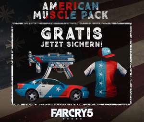 Far Cry 5 American Muscle Pack DLC kostenlos (alle Plattformen)