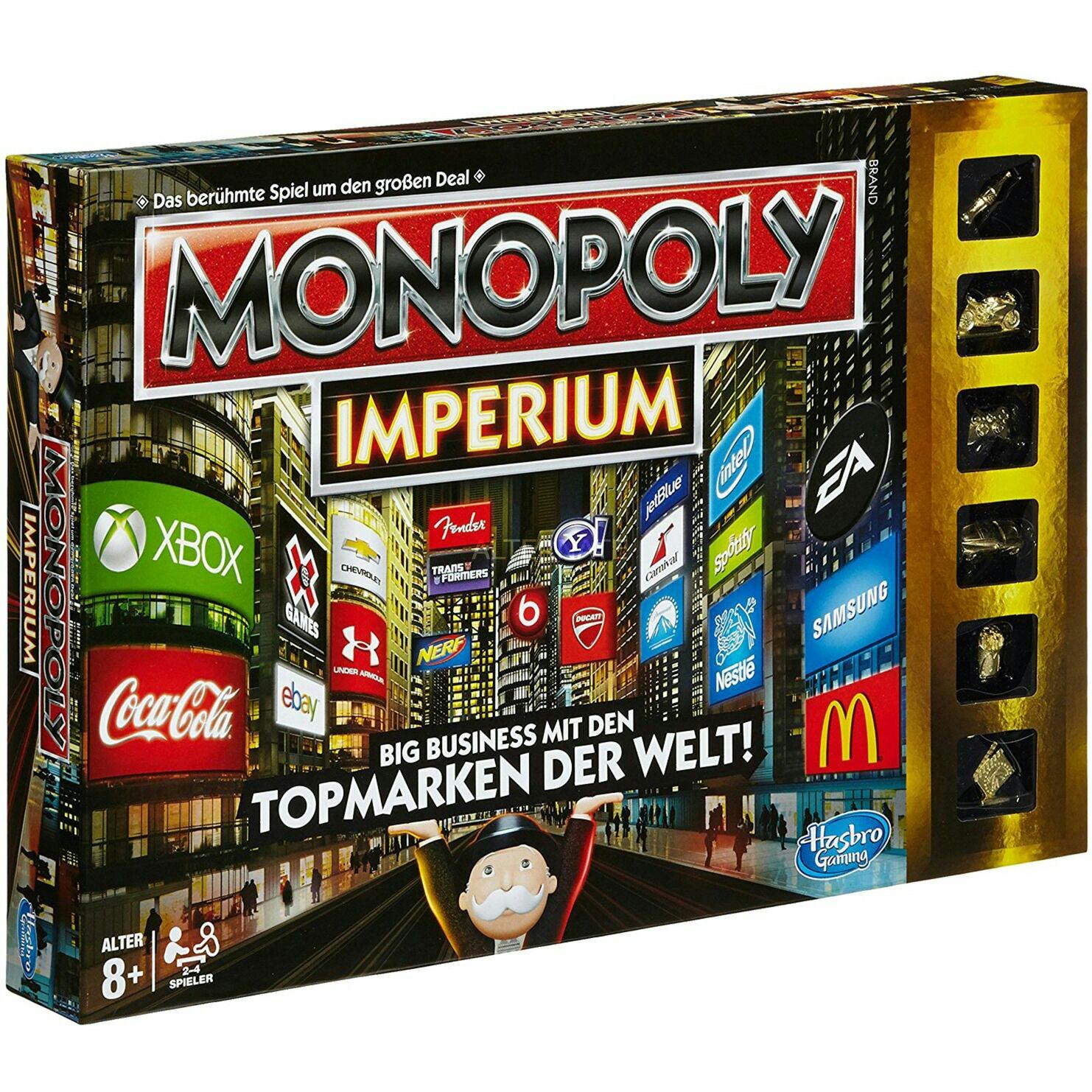 Monopoly Imperium für 9,99€ und 2,95€ Versand bei Alternate