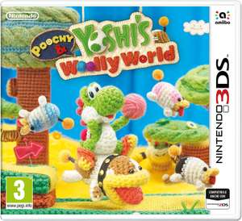 Poochy & Yoshi's Woolly World (3DS) für 23,36€ (Amazon IT)