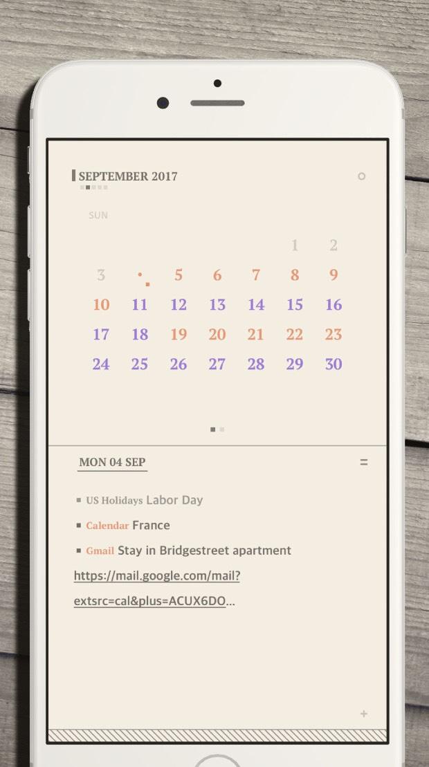 [iOS] Mojipad Kalender-App kostenlos