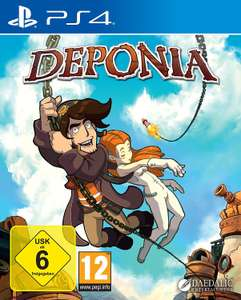 Deponia (PS4) für 5,99€ (Amazon + GameStop)