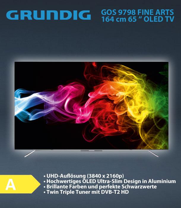 Grundig 65 GOS 9798 FINE ARTS OLED TV