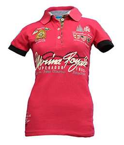 Geographical Norway Original Poloshirt für Damen – Modell: KIPAWA - Frauen - Stylisches Casual Kurzarm Polo Shirt für Freizeit - Sport - T-Shirt
