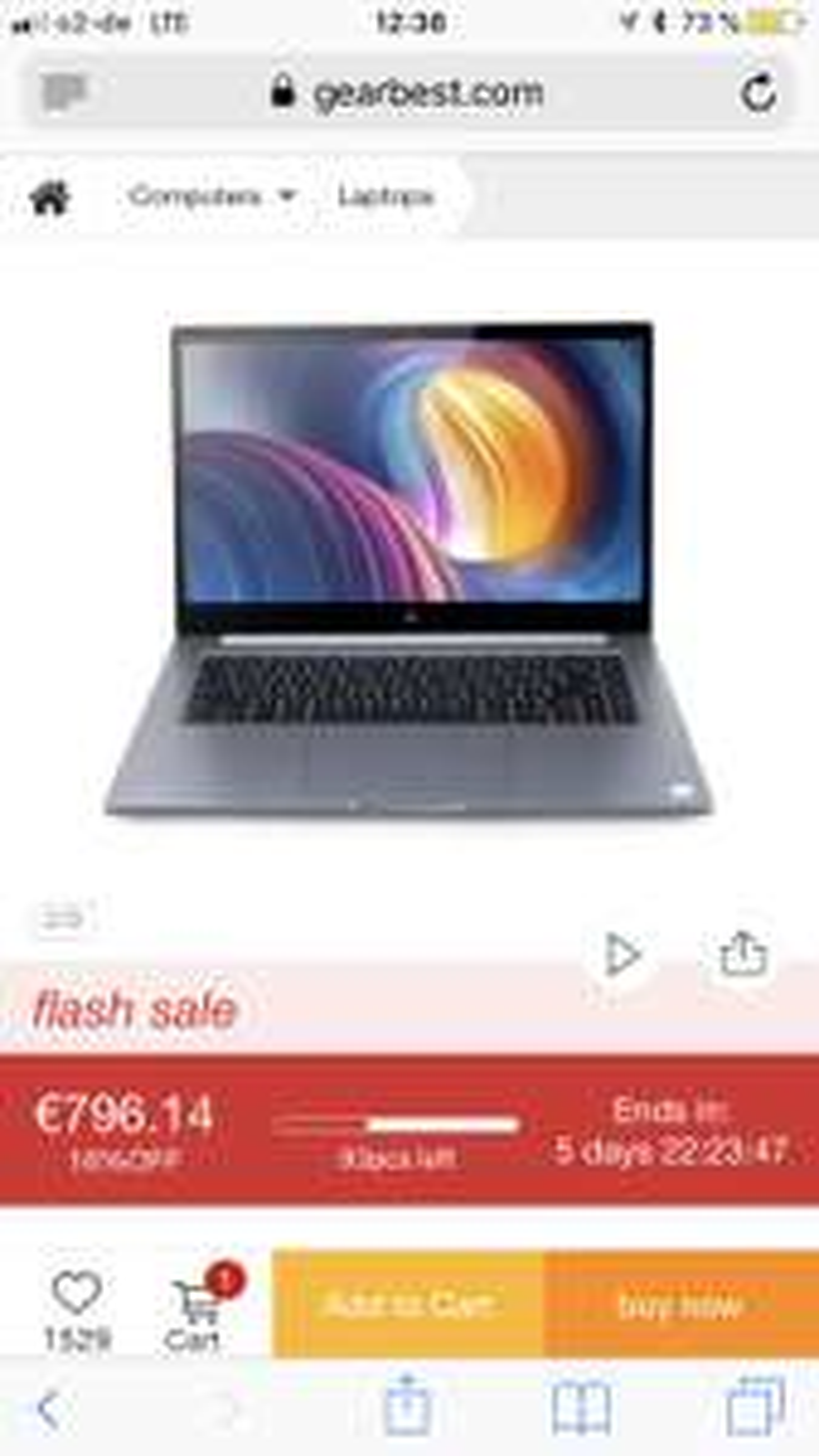 Xiaomi Notebook i7 - EU-Lager!