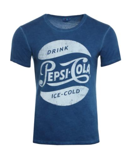 Pepsi T-Shirt aus reiner Baumwolle für 0€ + VSK (Gr. S-2XL)
