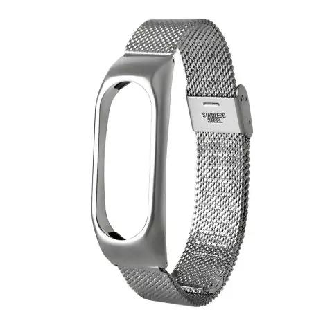 Xiaomi Mi Band 2 - Stahl-Armband für 2,43€ (Rosegal)