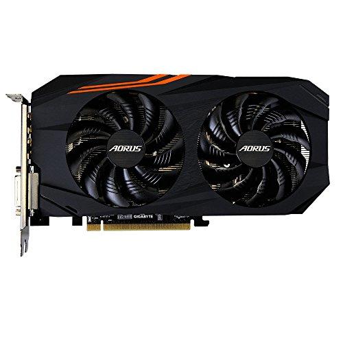Gigabyte Aorus Radeon RX 580 8G, 8GB GDDR5 RAM, DVI, HDMI, 3x DisplayPort (GV-RX580AORUS-8GD)