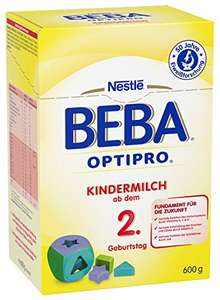 [AMAZON ]Nestlé BEBA OPTIPRO Kindermilch ab dem 2. Geburtstag, 6er Pack. - 41%