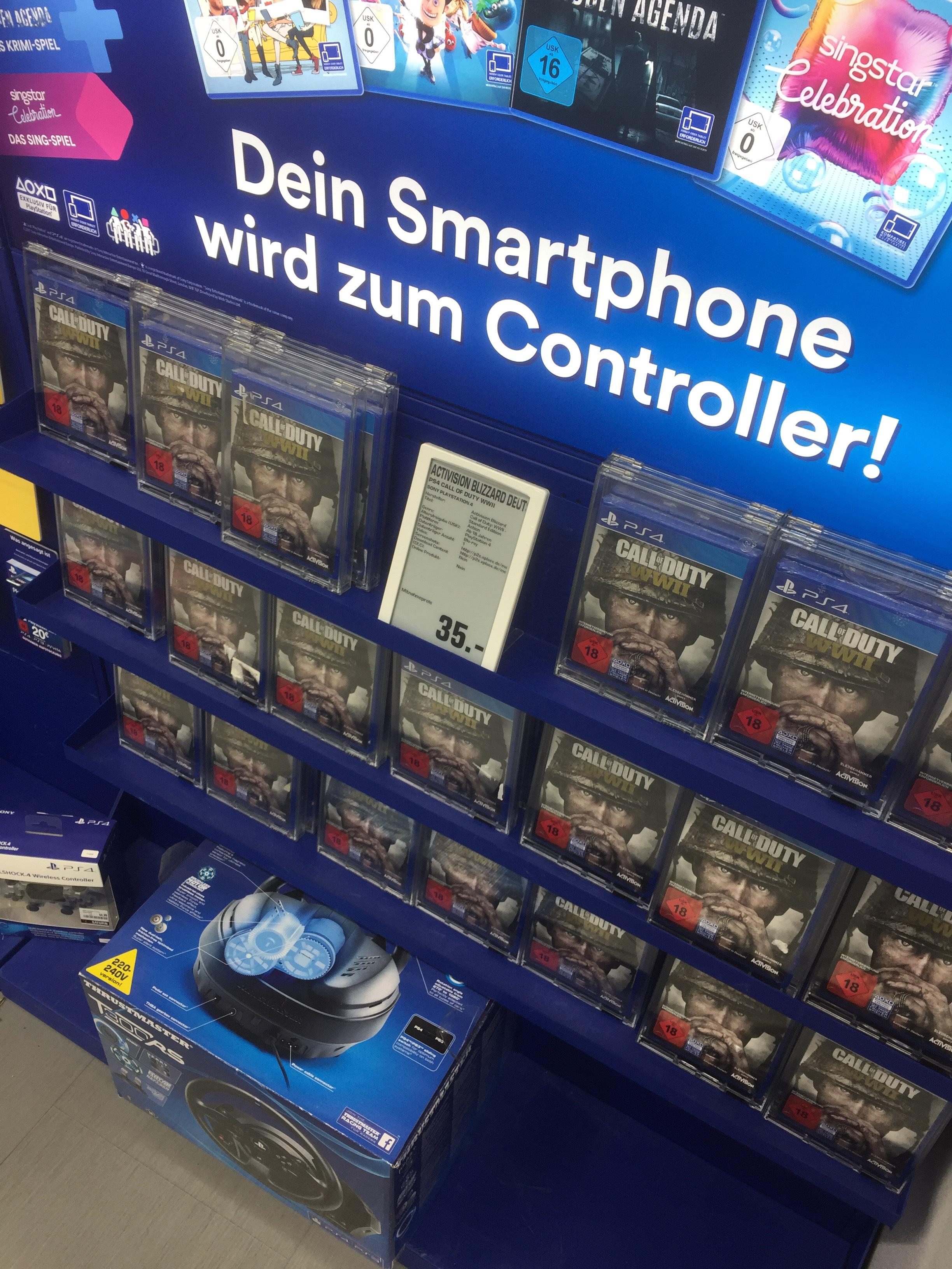 Call of Duty WW II für PS4 lokal im Saturn Braunschweig