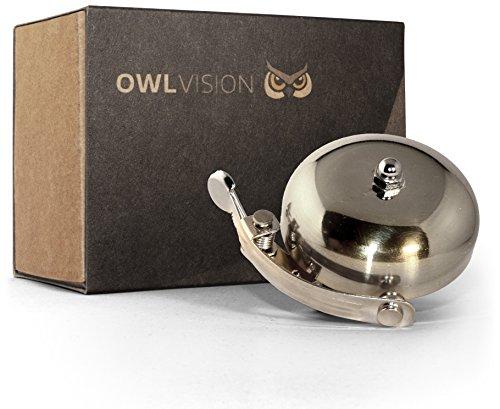 OWL VISION Fahrradklingel Hoot + Gratis Reflektorband für 8,99€