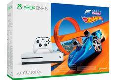 Xbox One S 500GB + Forza Horizon 3 + Hot Wheels für 179,99€ oder mit 2 Controller für 199€