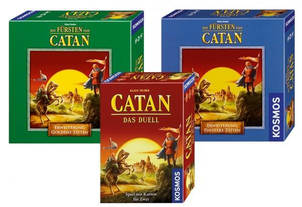 Siedler von Catan Duell inkl. beider Erweiterungen Brettspiel Gesellschaftsspiel