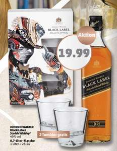 [Penny] Johnny Walker Black Label mit Tumblern