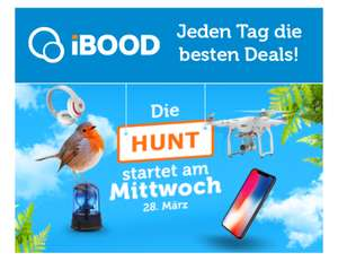 IBOOD Hunt am Mittwoch
