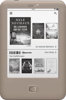 eBook Reader Tolino Page - gut für Onleihe der Bibliotheken