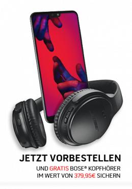 Huawei P20 Pro Dual-SIM schwarz mit Vodafone Smart L+ 7GB