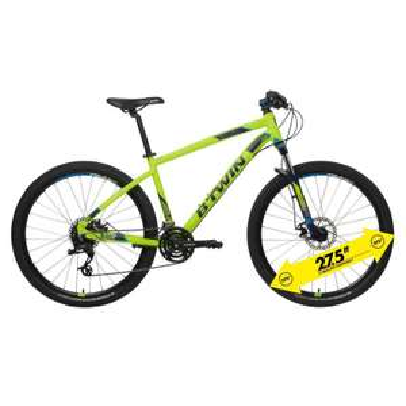 "Mountainbike 27,5"" Rockrider 520 Alu dunkelblau B'TWIN [Decathlon]"