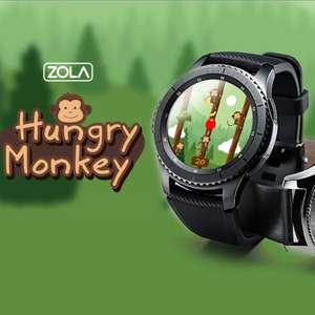 [Samsung Galaxy Apps] Gear S3 Spiel Hungry Monkey kostenlos statt 2,54 €