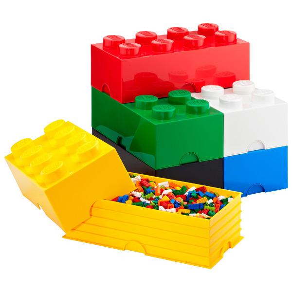 Lego storage Brick Aufbewahrungsbox verschiedene ab 5€ [Hornbach Frankfurt]