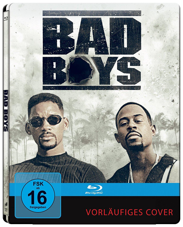 Bad Boys Harte Jungs Steelbook Deluxe Edition (Blu-ray) & Bad Boys II Steelbook (Blu-ray 4K Mastered) für je 8€ versandkostenfrei (Media Markt & Amazon Prime)