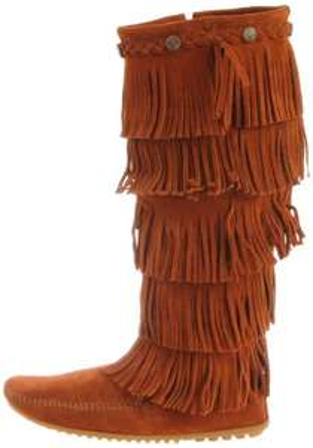 ( Amazon ) Minnetonka 5-Layer Fringe Boot 1652 Gr.36
