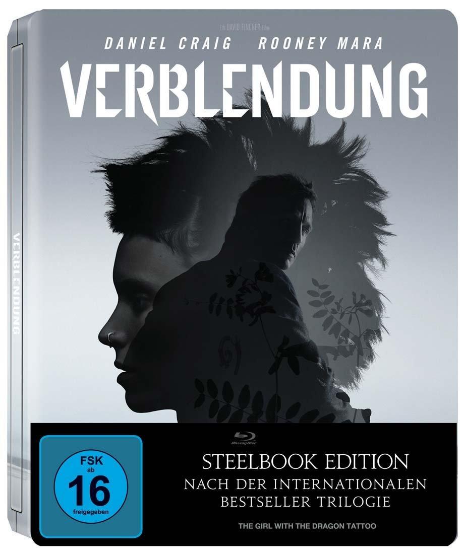Verblendung Steelbook Edition (2 Disc Blu-ray) für 8€ versandkostenfrei (Media Markt)