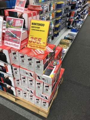 [Lokal? Media Markt Aachen] Nintendo Switch Bundle Super Mario Odyssey