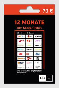 [ebay/gutschein] Astra HD+ Karte 12 Monate SAT HD+ Empfang