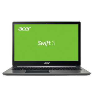 "[NBB] Acer Swift 3 (SF315-51G-73UX) 15"" Full-HD IPS Core i7-7500U 16GB DDR4 1000GB +512GB SSD GeForce MX150 Alu-Unibody silber Win10"