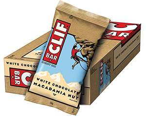 Clif Bar White Chocolate Macadamia 816 g (12 x 68 g)
