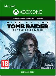 Rise of the Tomb Raider: 20 Year Celebration (XBox One) für 16,98€ (Xbox Store US mit Gold)
