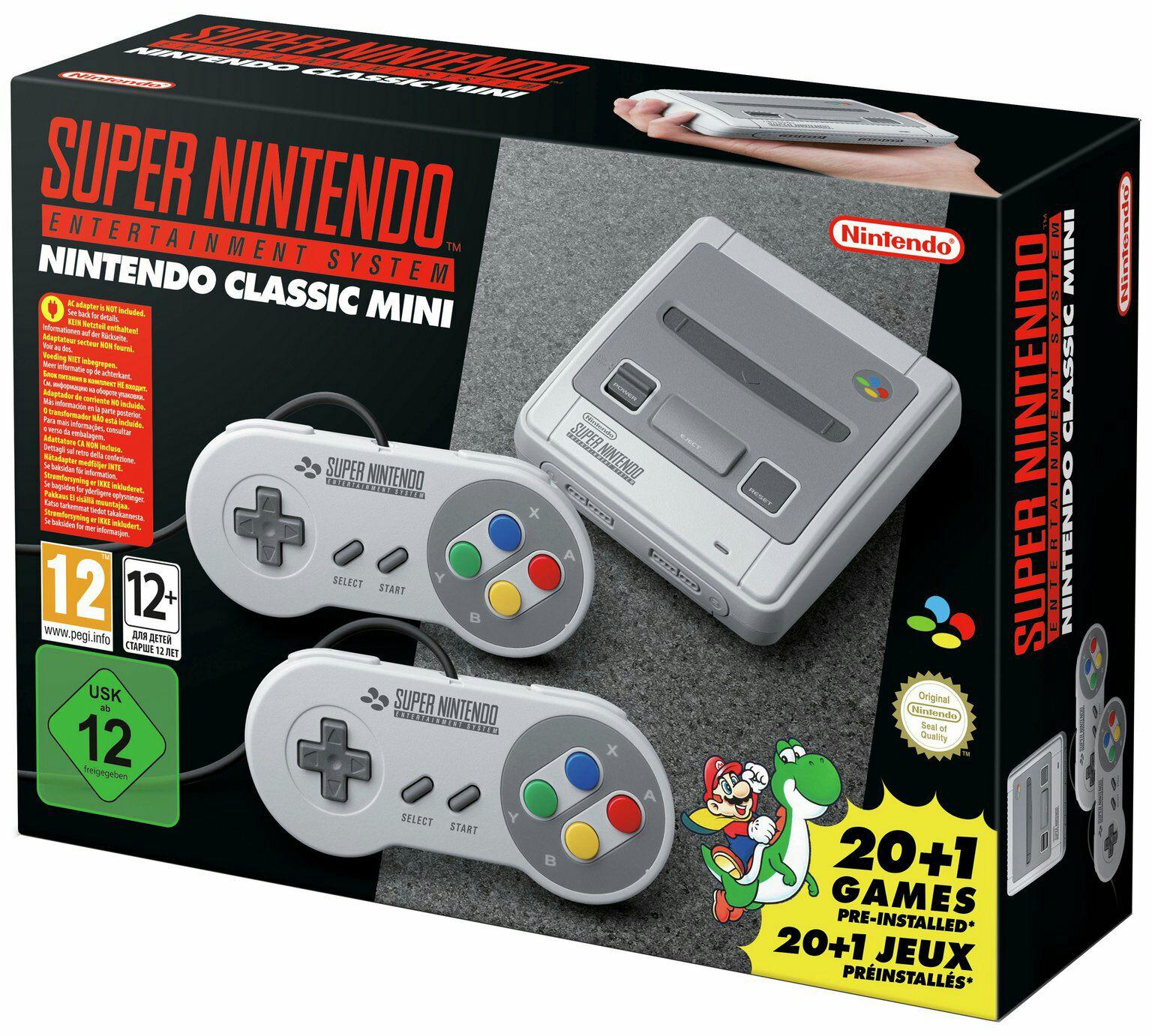 Update Super Nintendo Classic Mini (rakuten)