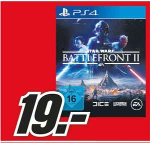 [Regional Mediamarkt-Hamburg] Electronic Arts Star Wars Battlefront II: Standard Edition (PlayStation 4) für 19,-€