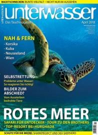 unterwasser Magazin Abo (12 Ausgaben) für 70,50 € mit 65 € Amazon-Gutschein bzw. 60 € Verrechnungsscheck