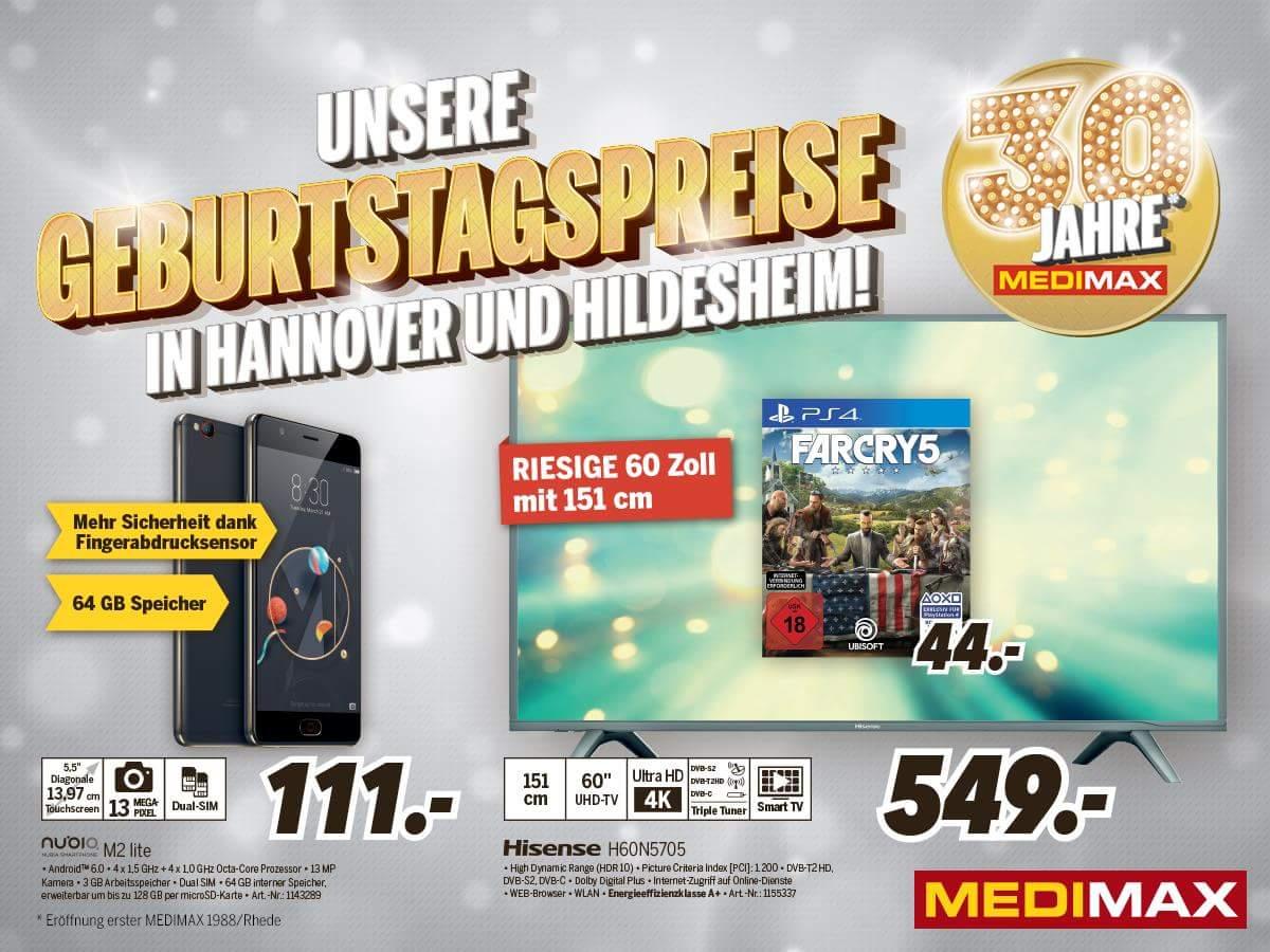 Far Cry 5 (PlayStation 4) bei Medimax im Angebot (lokal - Hannover und Hildesheim)