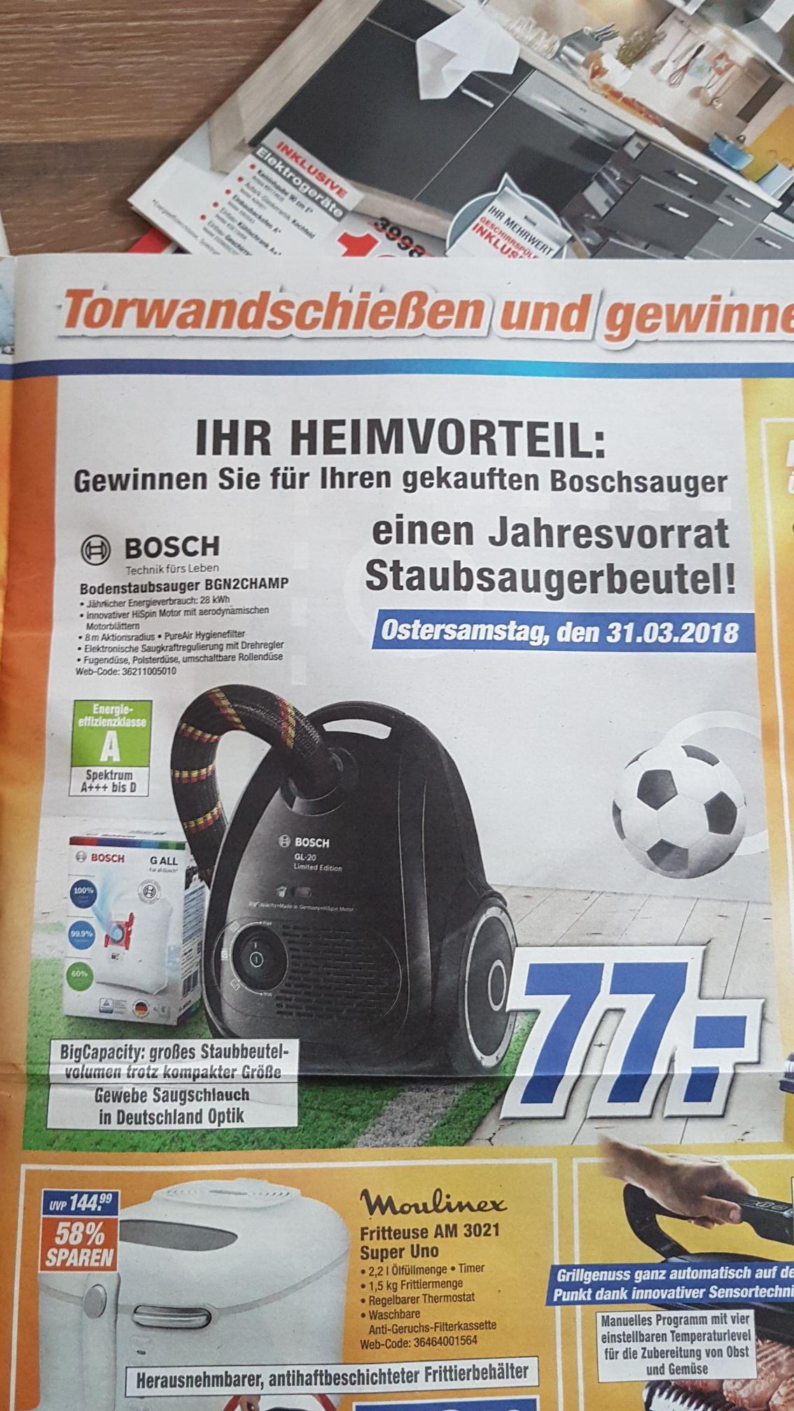 Expert Lokal Niederrhein Bosch GL20 Staubsauger
