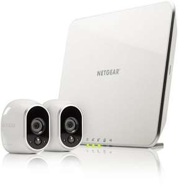 Netgear Arlo VMS3230 kabelloses Sicherheitssystem mit 2 HD-Kameras