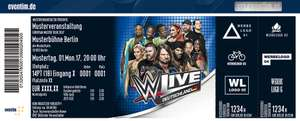 WWE Live 4 für 3 Tickets Oster Aktion