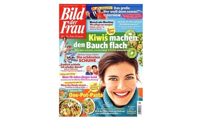 Halbjahres-Abo (26 Ausgaben) der Zeitschrift Bild der Frau