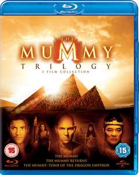 Die Mumie 1-3 Trilogy (Blu-ray) für 8,22€ (Zoom.co.uk)