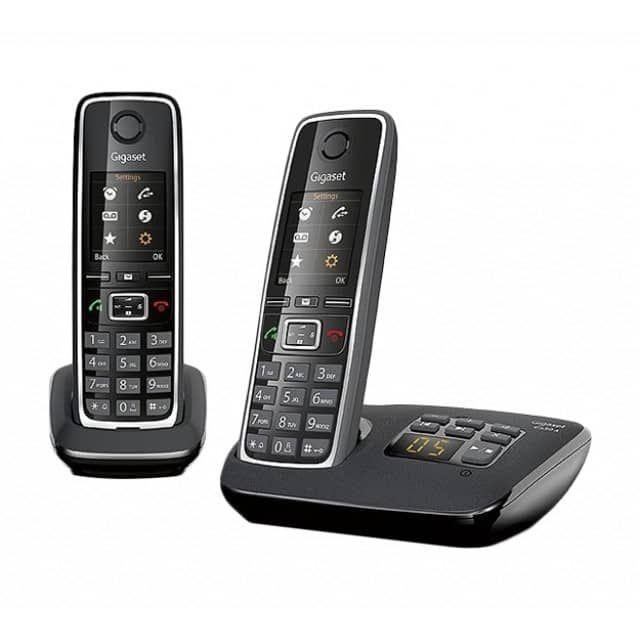 [Check24] Gigaset C530A Duo schnurloses Telefon mit Anrufbeantworter