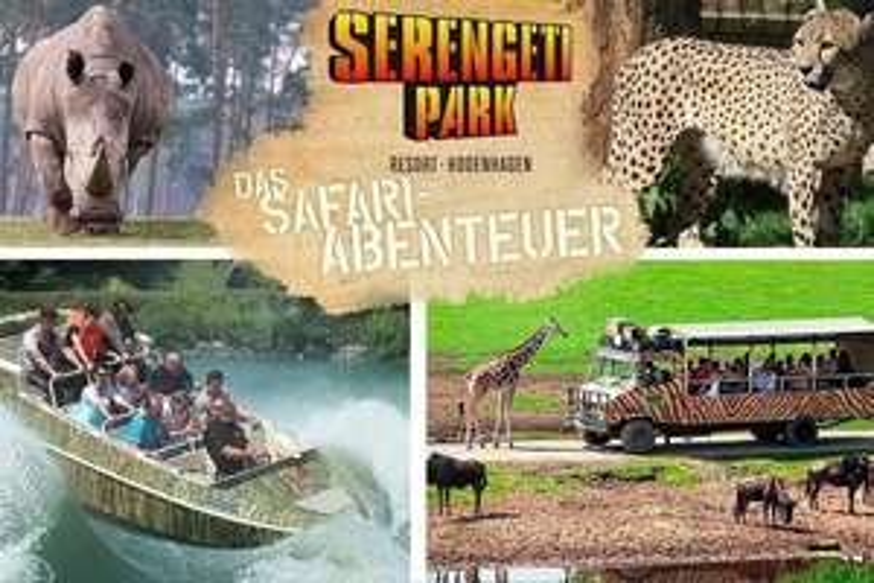 Tagesticket für den Serengeti-Park für nur 26,90€ (statt 34,50€)