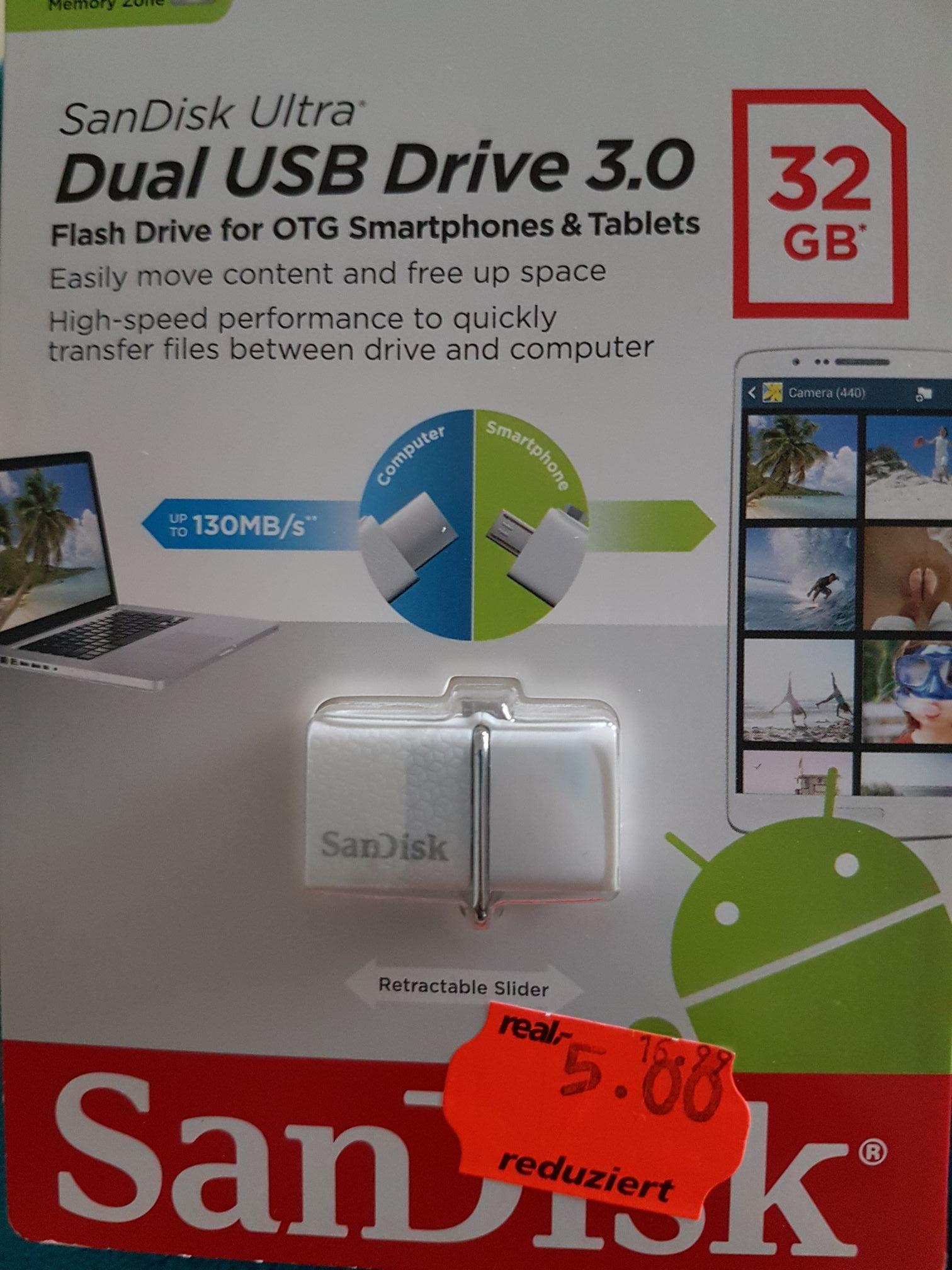 USB 3.0 Dual Stick *offline* Real Cuxhaven