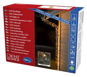 [Amazon Prime] Micro LED Lichterkette Konstsmide 3645-800