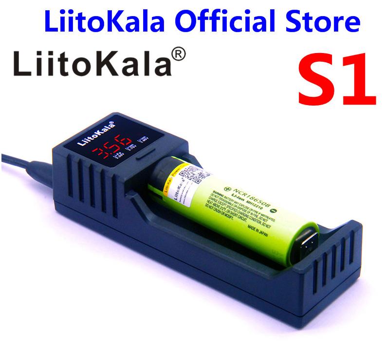 LiitoKala Lii-S1 Ladegerät für Li-Ion-Akkus