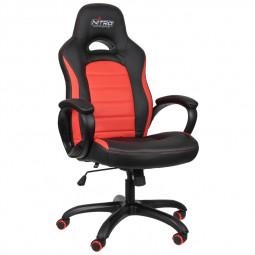 Nitro Concepts C80 Pure Gaming Stuhl Bürostuhl - schwarz/rot