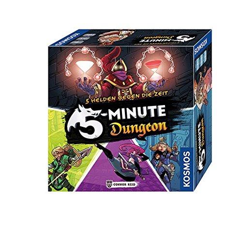 5 Minute Dungeon, ein kooperatives Kartenspiel für 2-5 Spieler