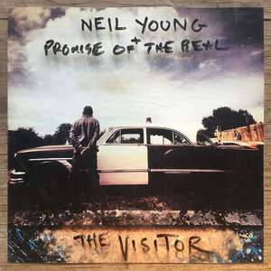 NEIL YOUNG The Visitor Vinyl @amazon.com