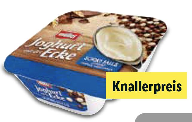 [ab 3.4] Müller Joghurt mit der Ecke für nur 0,29 € bei LIDL
